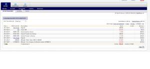 NetTeller Current Transaction Display