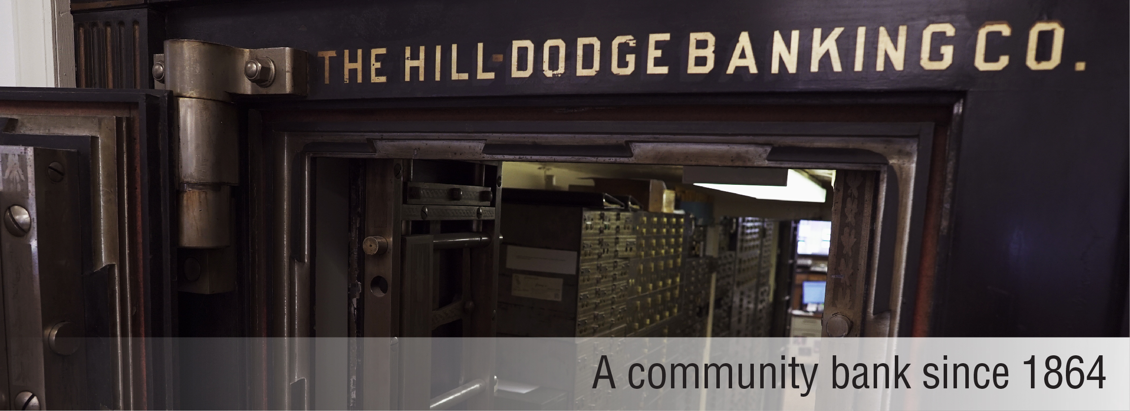 A community bank since 1864.